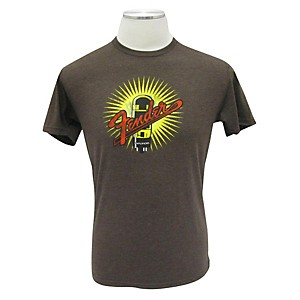 Fender Amplifiers T-Shirt Espresso Small