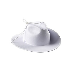 Director's Showcase White Aussie Hat Without Band Extra Large