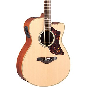 Yamaha A-Series Concert Acoustic-Electric Guitar with SRT Pickup Mahogany Back & Sides