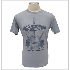 Fender Acoustics T-Shirt Denim Extra Extra Large