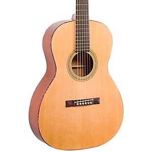 Recording King Classic Series 12 Fret OOO Solid Top Acoustic Left-Handed Guitar Natural