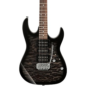Ibanez GRX70QA Electric Guitar Transparent Black Sunburst