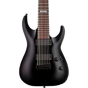 ESP H-308 LTD 8-String Electric Guitar Black Satin