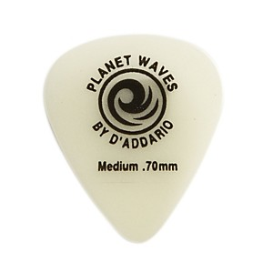 D'Addario Planet Waves Cellu-Glow Guitar Picks Medium 25 Pack