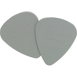 Fender Nylon Guitar Pick 12 Pack 0.73 12 Pack