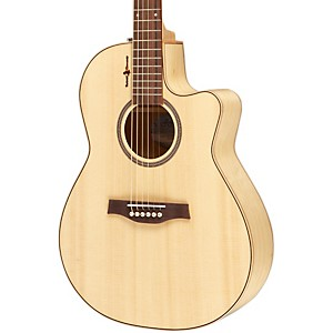 Seagull Amber Trail CW Folk SG Acoustic-Electric Guitar Natural