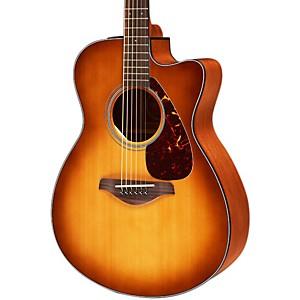 Yamaha FSX700SC Solid Top Concert Cutaway Acoustic-Electric Guitar Sunburst