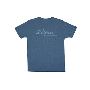 Zildjian Heathered Blue T-Shirt Heathered Blue Large