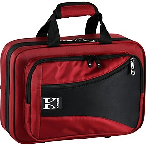Kaces Structure Series Polyfoam Clarinet Case Dark Red