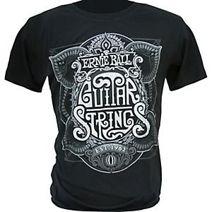 Ernie Ball King of Strings T-Shirt Black Small