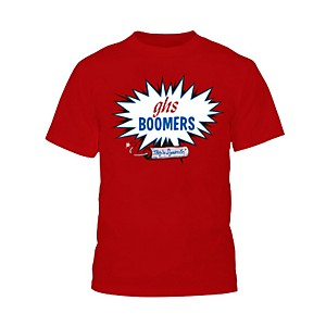 GHS Red Boomers T-Shirt Medium
