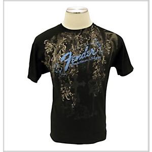 Fender Heaven's Gate T-Shirt Black Medium