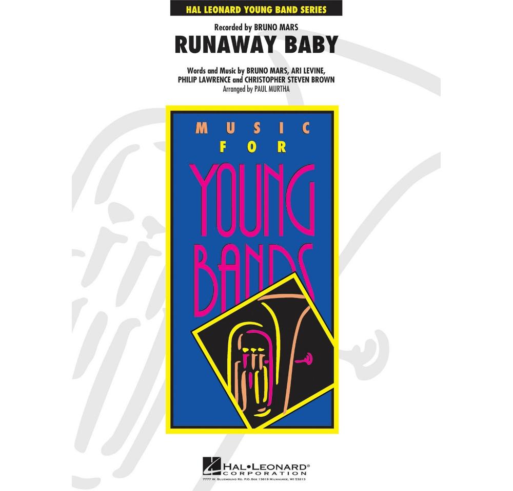 Hal Leonard Runaway Baby Young Concert Band Series Level 3 Ebay