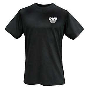 Sabian Logo T-Shirt, Black Medium