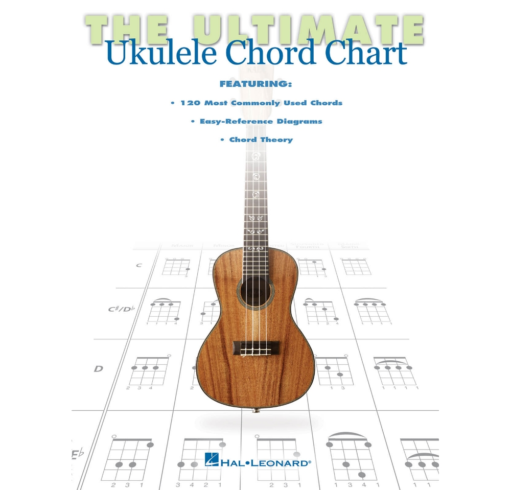 The ultimate ukulele chord chart ebay the ultimate ukulele chord chart hexwebz Images