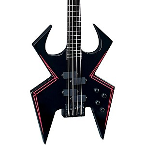 B.C. Rich WMD Widow Electric Bass Guitar Onyx
