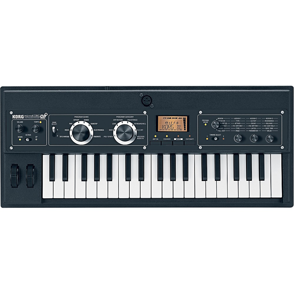 korg microkorg xl synthesizer vocoder ebay. Black Bedroom Furniture Sets. Home Design Ideas