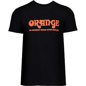 Orange Amplifiers Classic T-Shirt Black XXX Large