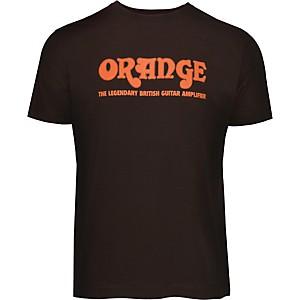 Orange Amplifiers Classic T-Shirt Brown XXX Large
