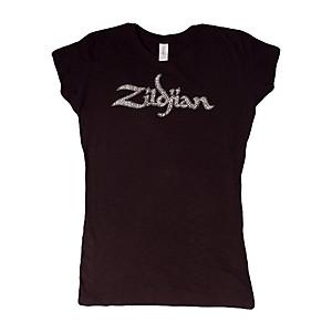 Zildjian Trademark Women's T-Shirt Black Extra Large