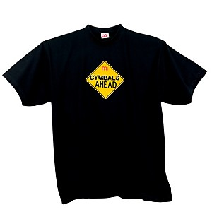 Meinl Cymbals Ahead T-Shirt, Black Black Small