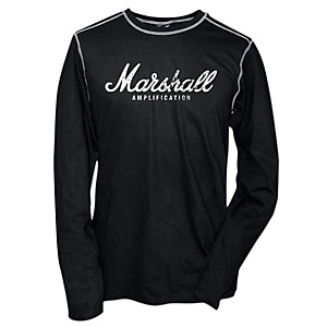 Marshall Logo Thermal Black with Gray Contrast Stitching Large