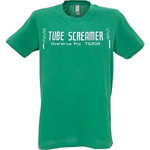 Ibanez Tube Screamer T-Shirt Green Large