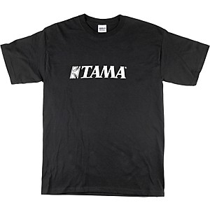 Tama Classic Logo T-Shirt Black Medium