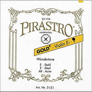 Pirastro Wondertone Gold Label Series Violin A String 4/4 Size