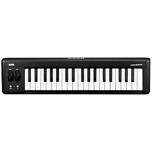 Korg MICROKEY37  USB MIDI Keyboard Black