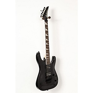 Jackson JS32Q Dinky DKA Quilt Maple Top Electric Guitar Transparent Black, Black Hardware 888365524627