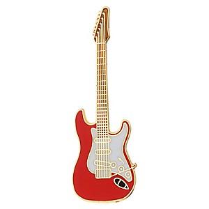 AIM Pin Electric Guitar Red