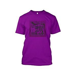 Ernie Ball Power Slinky T-Shirt Purple Extra Large