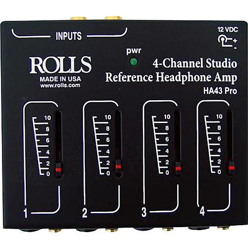 Rolls HA43 Pro Stereo Headphone Amp-thumbnail