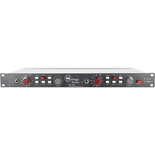 Heritage Audio HA73X2 Elite Dual-Channel Microphone Preamp thumbnail