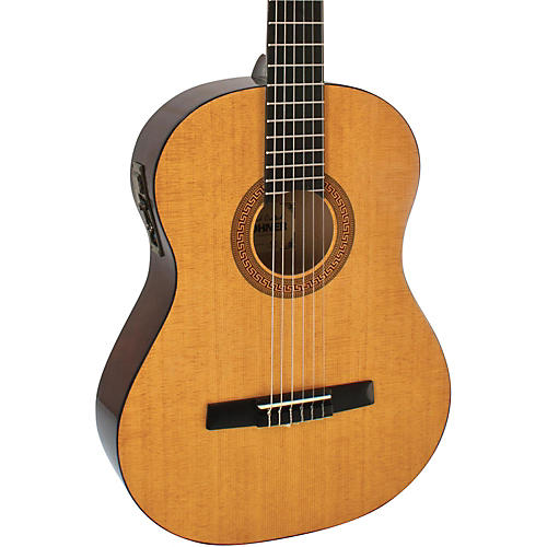 Hohner HC06E Classical Nylon String Acoustic-Electric Guitar thumbnail