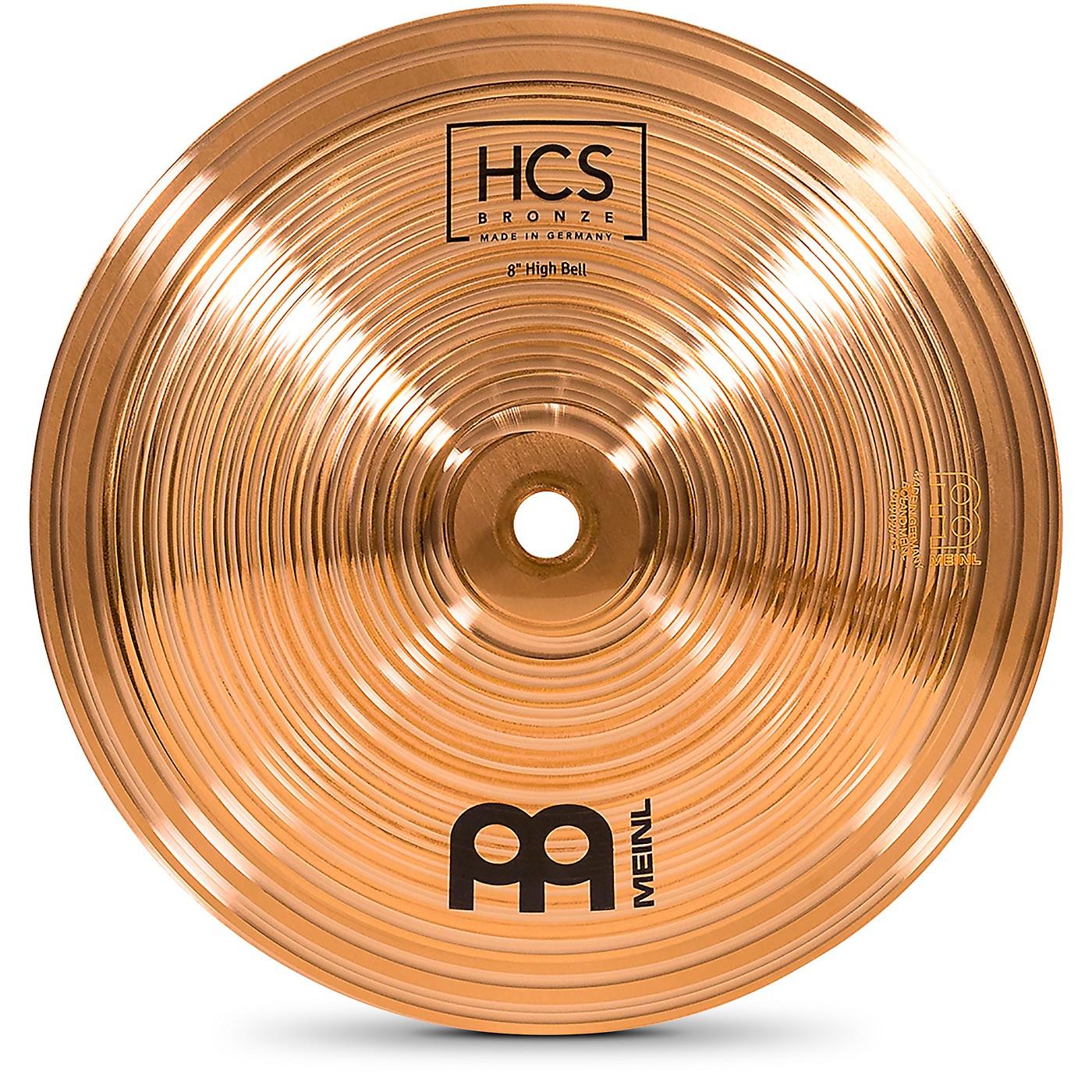 Meinl HCS Bronze Bell, High, 8 in. thumbnail