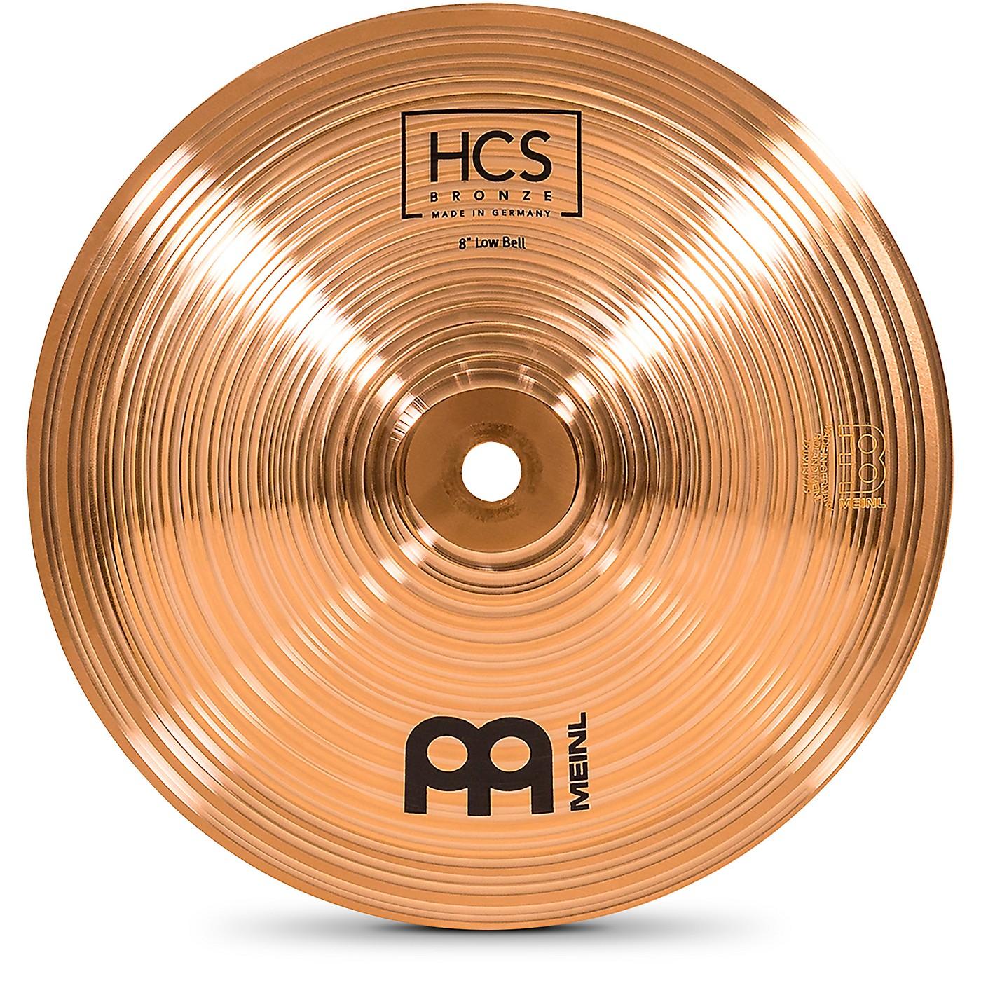 Meinl HCS Bronze Bell, Low, 8 in. thumbnail