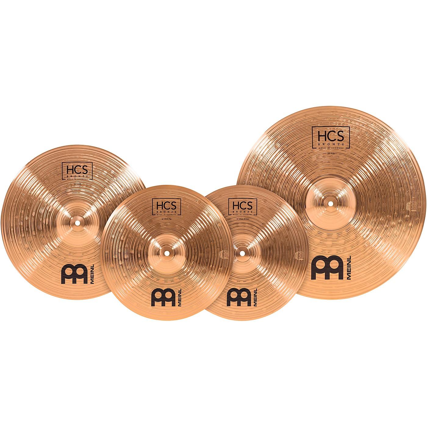 Meinl HCS Bronze Complete Cymbal Set thumbnail