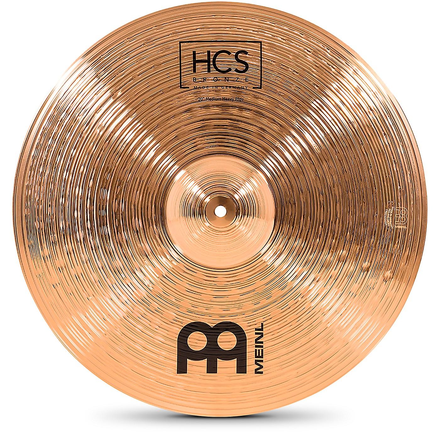 Meinl HCS Bronze Medium Heavy Ride Cymbal thumbnail