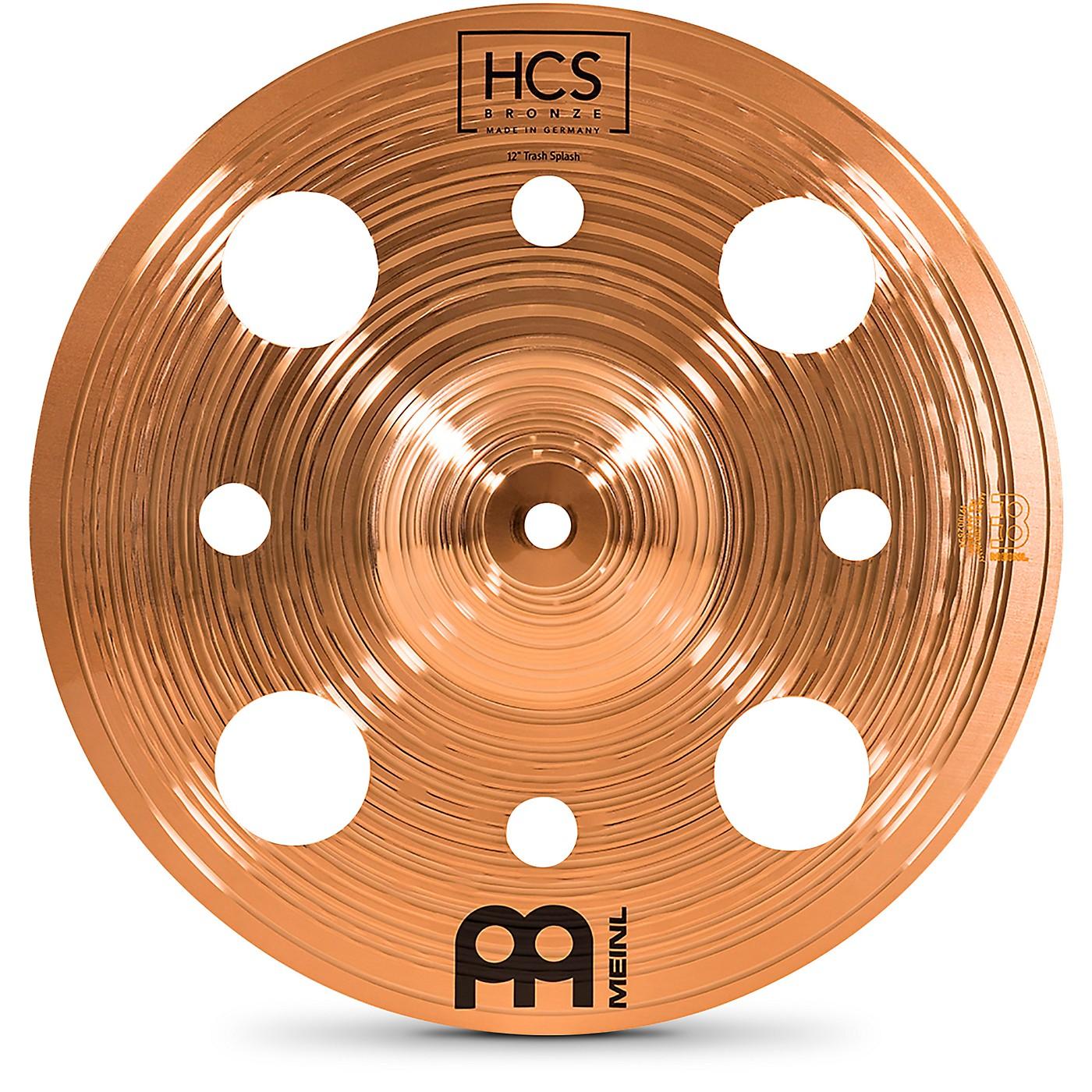 Meinl HCS Bronze Trash Splash Cymbal thumbnail