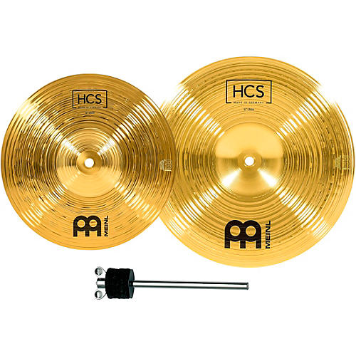 Meinl HCS-FX Splash and China Cymbal Effect Stack with FREE Stacker thumbnail