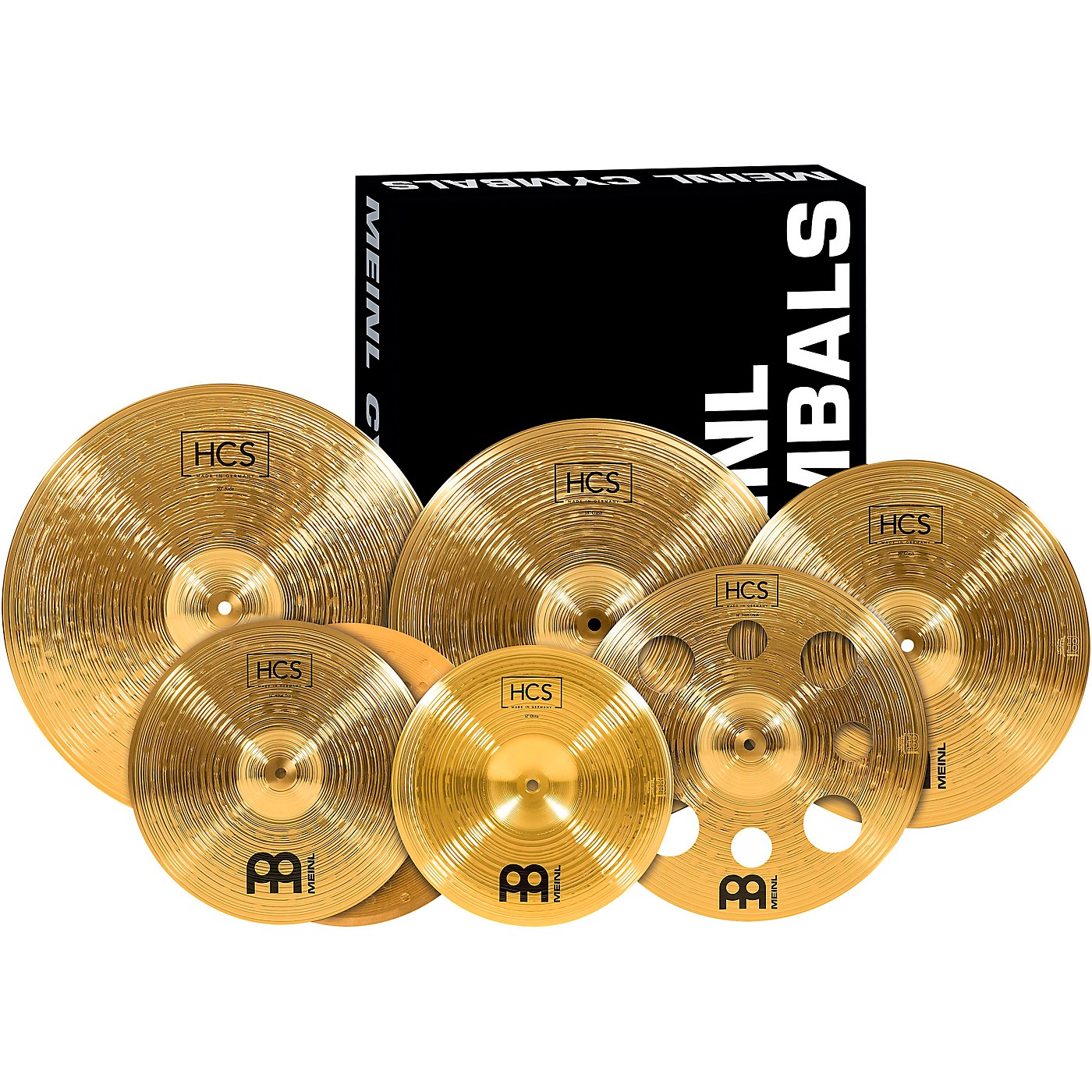 Meinl HCS-SCS1 Ultimate Complete Cymbal Set Pack with FREE 16-Inch Trash Crash thumbnail