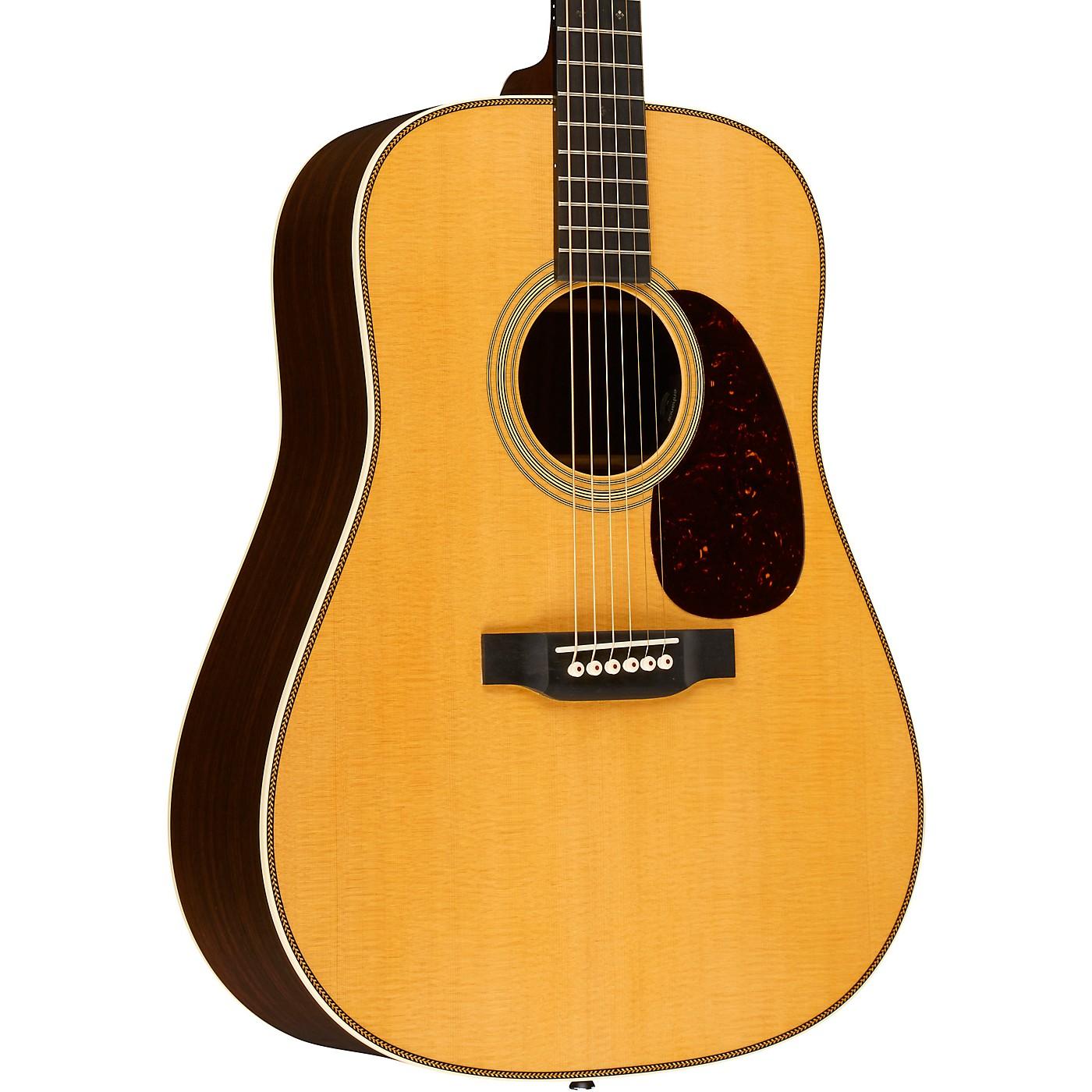 Martin HD-28E Dreadnought Acoustic-Electric Guitar with Fishman Aura VT Enhanced thumbnail