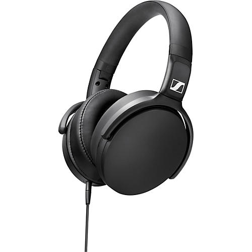 Sennheiser HD 400S Foldable Closed-Back Headphones with One-Button Remote Mic in Black thumbnail