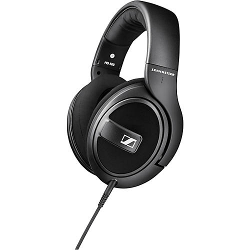 Sennheiser HD 569 Closed-Back Around-Ear Headphones with One-Button Remote Mic in Black thumbnail