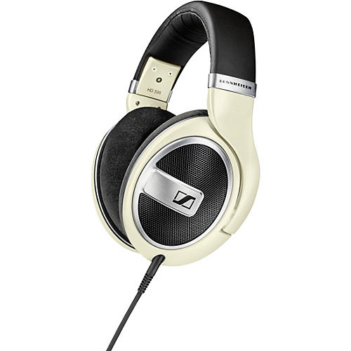 Sennheiser HD 599 Open-Back Headphones Matte Ivory thumbnail