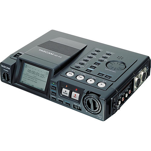 Tascam HD-P2 Portable High-Definition Stereo Audio Recorder thumbnail
