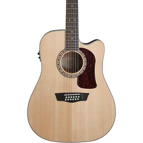 Washburn HD10SCE12 Heritage 10 Series 12-String Acoustic-Electric Guitar thumbnail