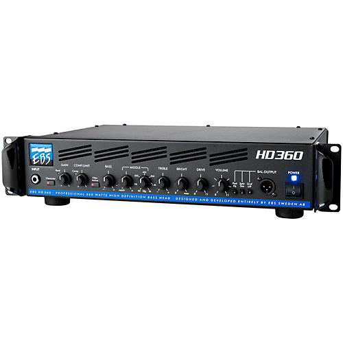 EBS HD360 360W Bass Guitar Amplifier Head thumbnail